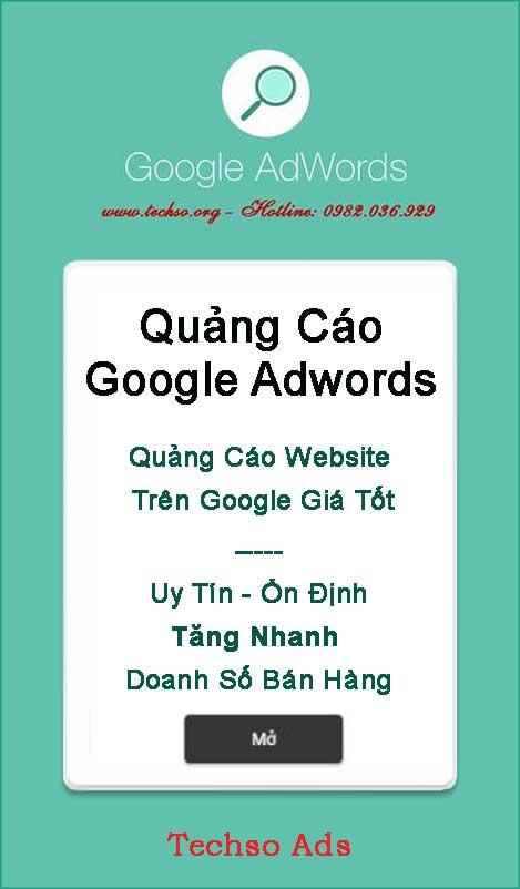 Quảng Cáo Google - Techso