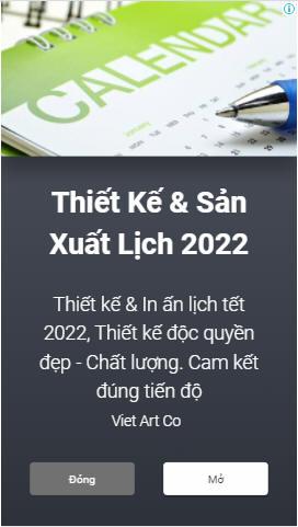 Thiết kế Lich Việt Art